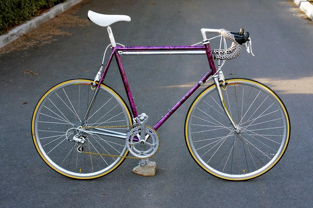 road bicycle vintage custom campagnolo veloce groupset del. Black Bedroom Furniture Sets. Home Design Ideas