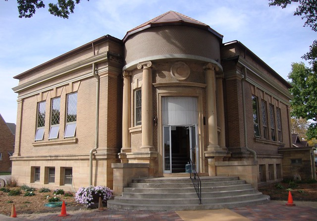 Old Carnegie Library Eagle Grove Iowa Flickr Photo Sharing