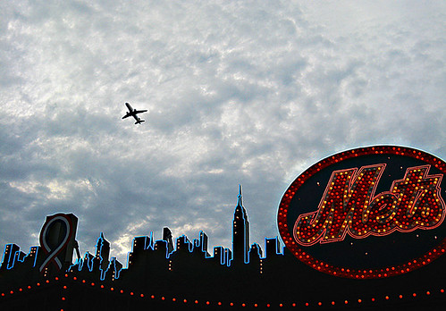 Flight Over Mets Skyline | by mike_cala