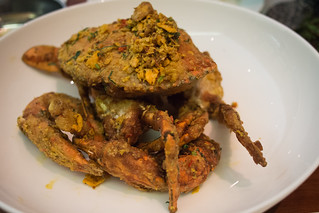 Salted egg crab | by hyteng