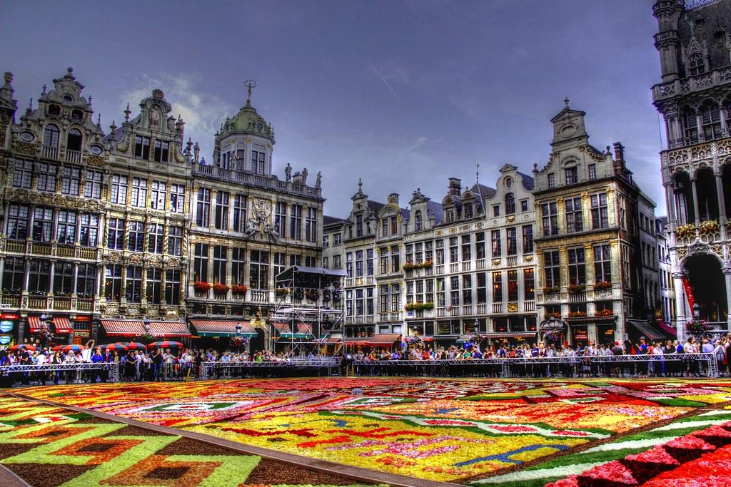 Belgique bruxelles grand place tapis de fleurs 2012 flickr - Office de tourisme bruxelles grand place ...