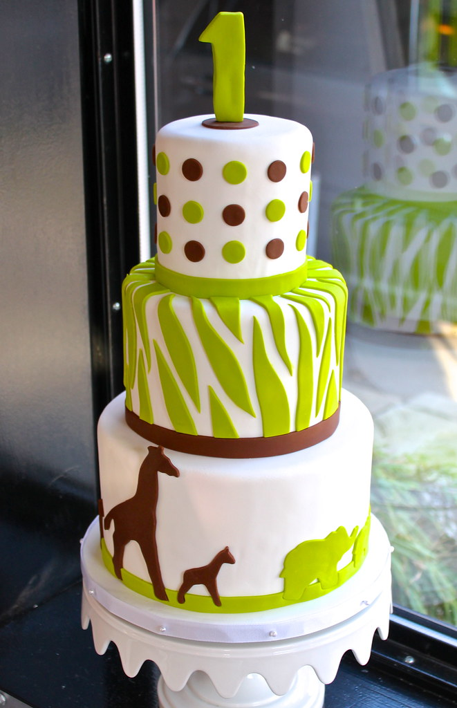 modern safari baby shower cake zoe lukas flickr