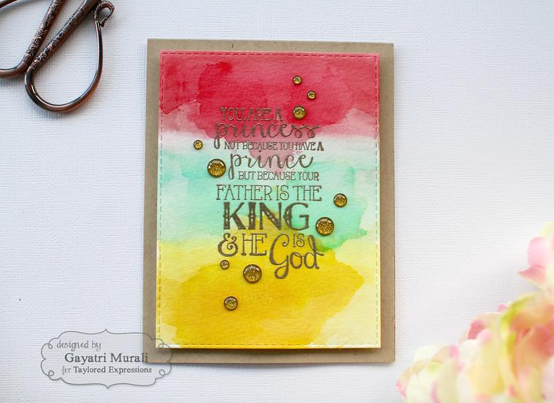 Spiritual card 2 flat