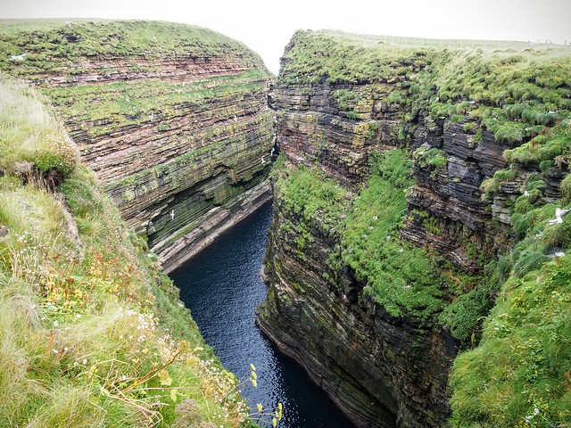 Cliffs at Duncansby Head