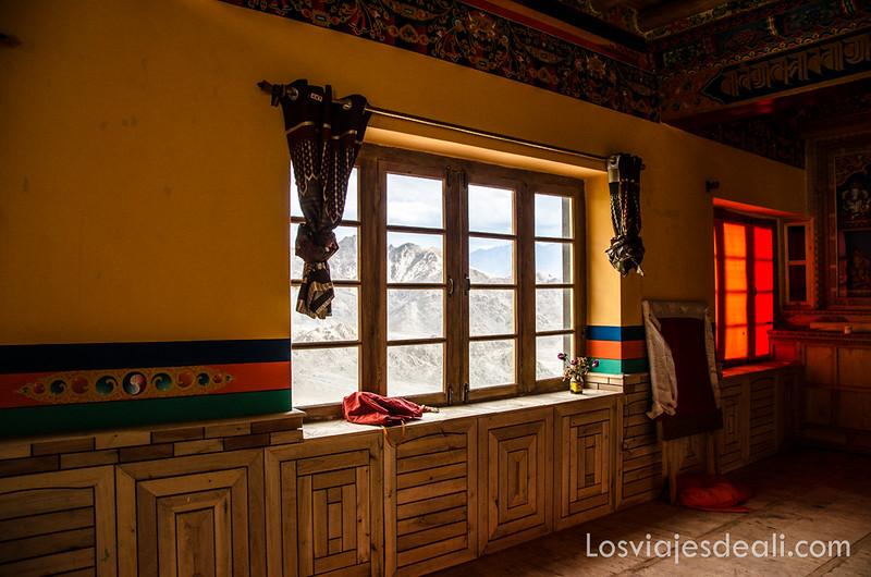 trekking cerca de Leh monasterio de Saboo