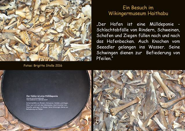 Wikingermuseum Haithabu ... Wikingerschiff ... Bastelbogen - Quietsche-Entchen Wikinger ... Fotos und Collagen: Brigitte Stolle 2016