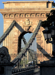 Budapest, the Chain bridge in sunset light | by sovcsil
