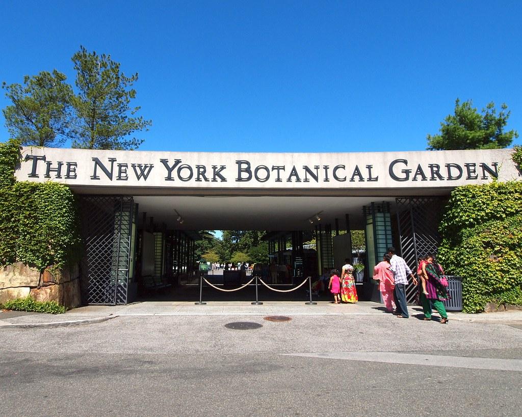 Conservatory Gate The New York Botanical Garden Jag9889