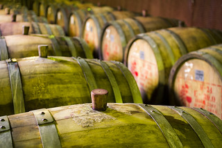 wine barrels | by harlanov