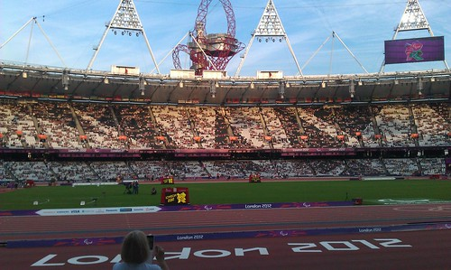Paralympics 2012, Olympic Stadium, London | by Pub Car Park Ninja