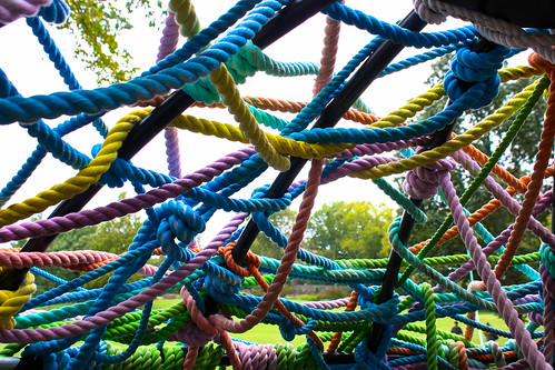 Candy Colored Ropes | by derekbruff