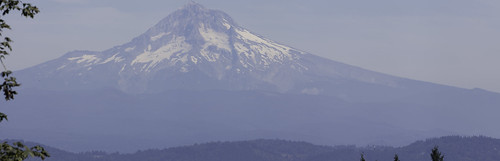 Giant Mt Hood Panorama from Council Crest | by rayterrill