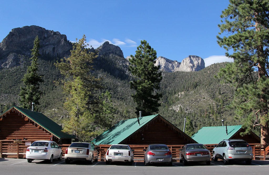 Rental cabins mount charleston nv three of the twenty for Cabin rentals in nevada