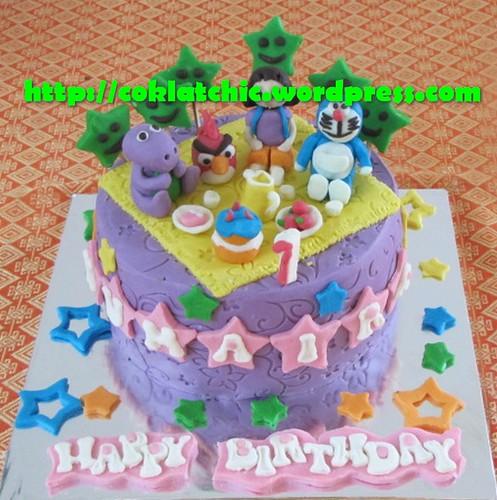 Cake Doraemon, dora dan angry bird   Niken I.Dh   Flickr Dora Cake Doraemon