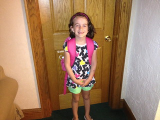 Lexi's First Day of First Grade | by Kevin D. Hendricks