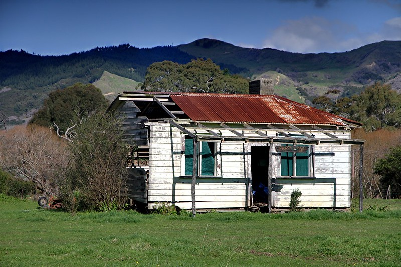Old house, Tikitiki, Gisborne, New Zealand