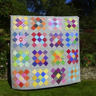 Door Into Summer - A Finished Quilt | by Laura @ Needles, Pins and Baking Tins
