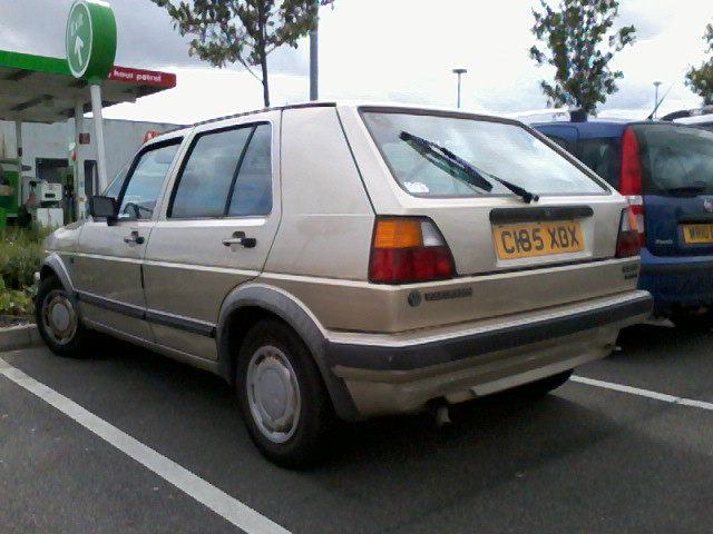 1985 volkswagen golf 1 8 carat lhd although mkii 39 s arent flickr. Black Bedroom Furniture Sets. Home Design Ideas