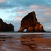 Wharariki Beach and the Archway Islands - New Zealand