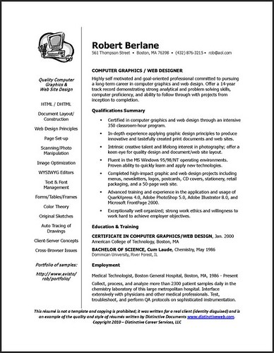 cover of resume
