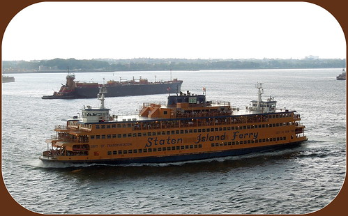 how to get to staten island ferry from times square
