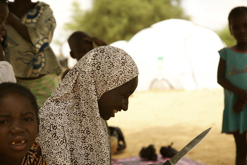 Freelance journalist Kim Vinnell is visiting Oxfam programmes in Niger, West Africa | by Oxfam NZ