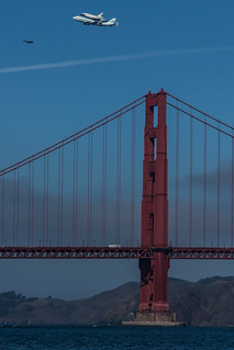 Endeavor Over Golden Gate | by spencer341b
