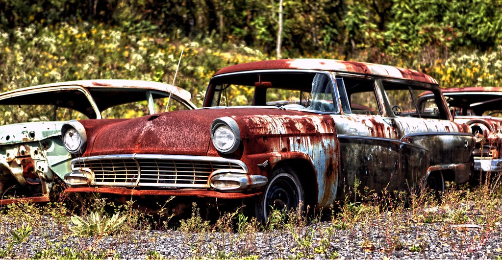 Old, Rusty Classic Cars and Trucks 005 | Darryl Moran | Flickr