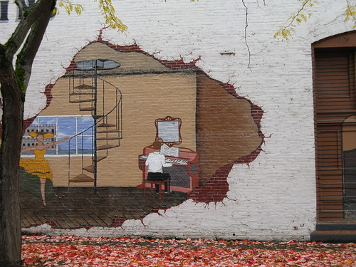 Autumn in Albany, Linn County, Oregon ~ Pretty Cool Mural | by Pixel Packing Mama ~ 25 Million Views