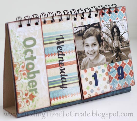 Diy Flip Calendar : Flip calendar perpetual tutorial on my
