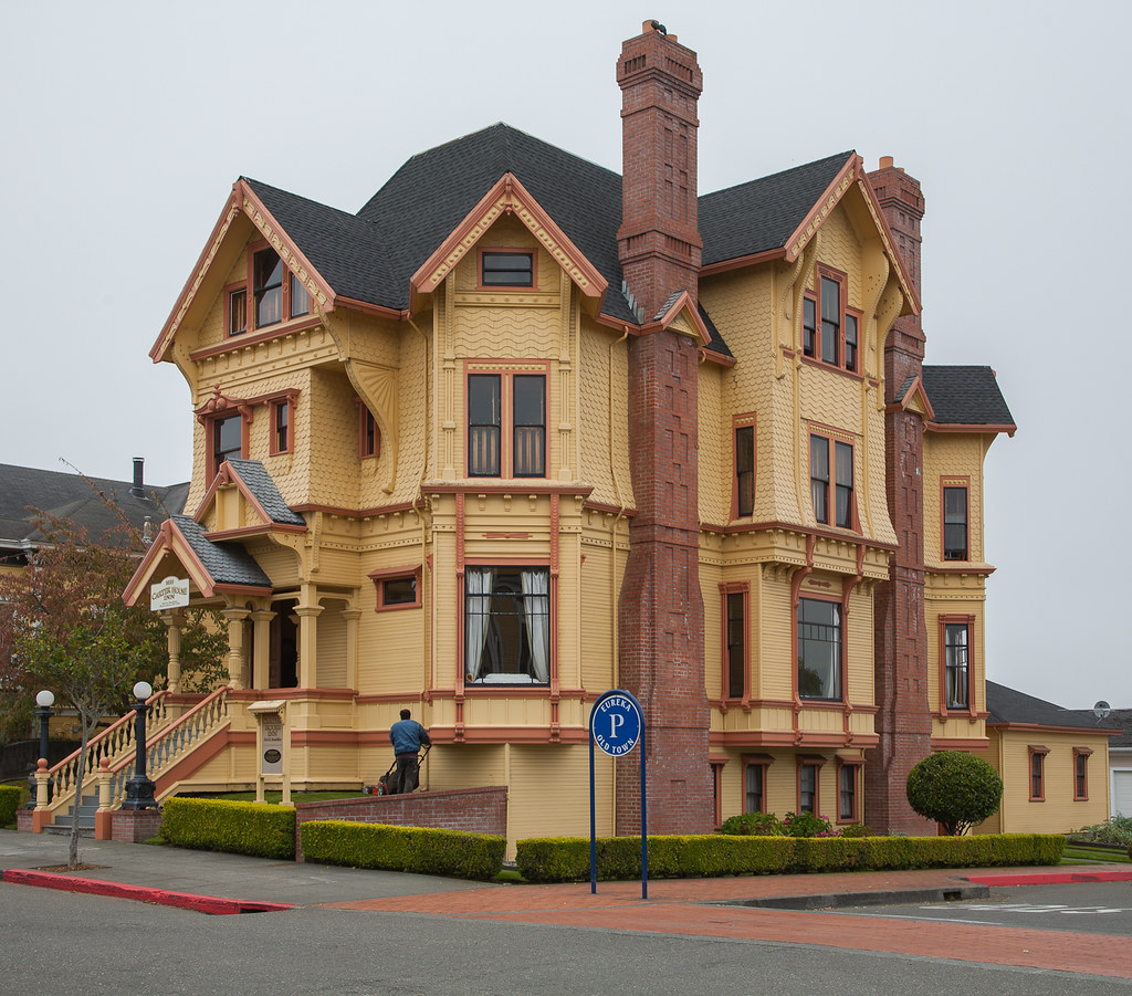 Eureka houses victorian and edwardian homes in eureka for Eureka house