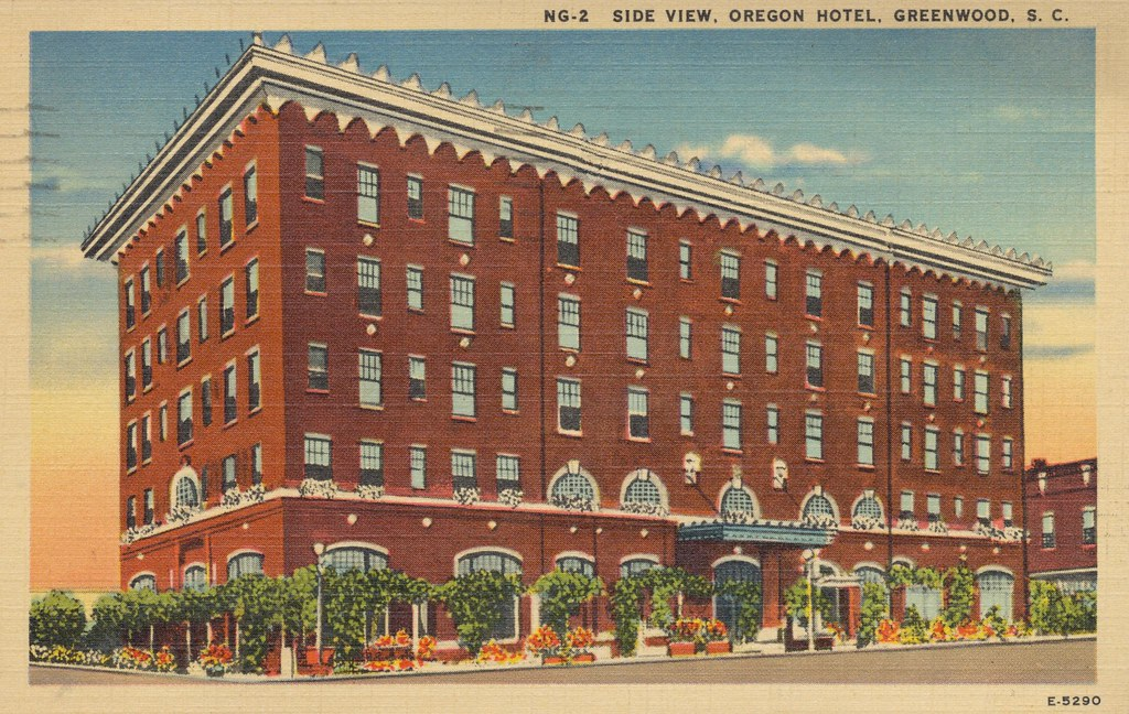 Oregon Hotel - Greenwood, South Carolina