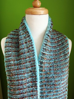 FCK London Fog Brioche Cowl | by yarnloopie