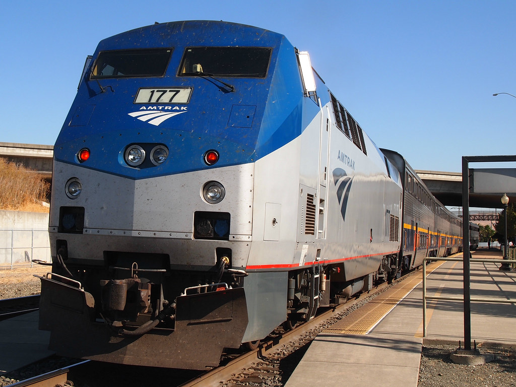 Amtrak 177 Genesis P42 1 Photogrphed At The Suisun