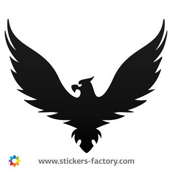 Sticker r design - German Eagle Sticker Decal 07178 Stickers Factory