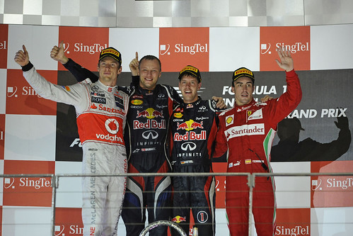 Vettel wins the 2012 Singapore Grand Prix | by AGPCF1