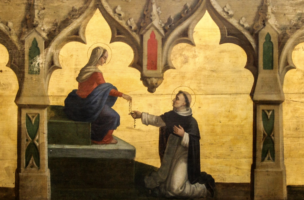 Image result for images of our Lady of the rosary