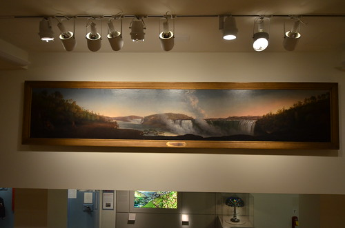 New-York Historical Society: Panorama painting of Niagara Falls | by Chris Devers
