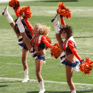 Denver Broncos Cheerleaders | by Evan Gearing (Evan's Expo)