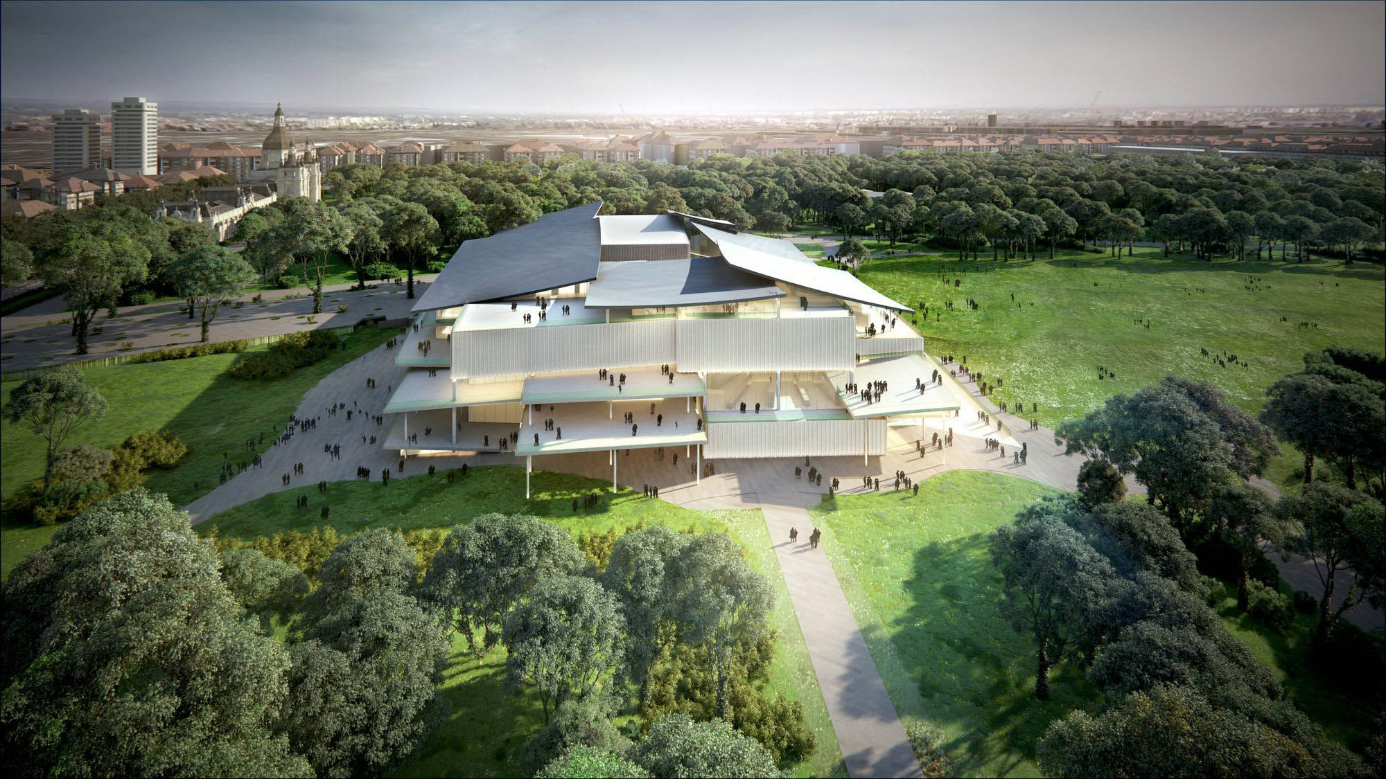 New National Gallery and Ludwig Museum, Budapest design by SANAA