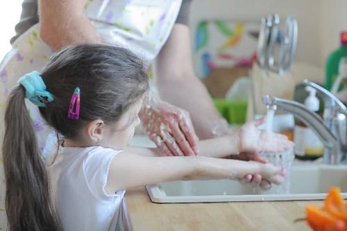 小児ストロフルス 予防 対策 手洗い