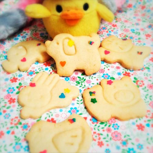Animal Crackers, animal cookies, recipe, animal cookie cutter,  school lunch, school snack, 動物, 餅乾