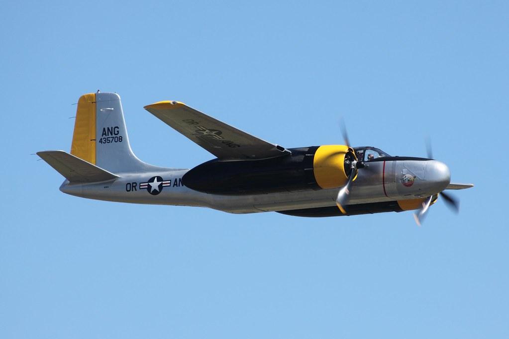 Help Wanted >> Classic Aircraft Museum Douglas A-26 Invader | Paul Schweizerhof | Flickr