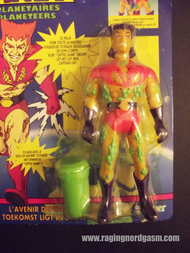 Captain Planet Overseas Captain Pollution by Kenner | by Raging Nerdgasm