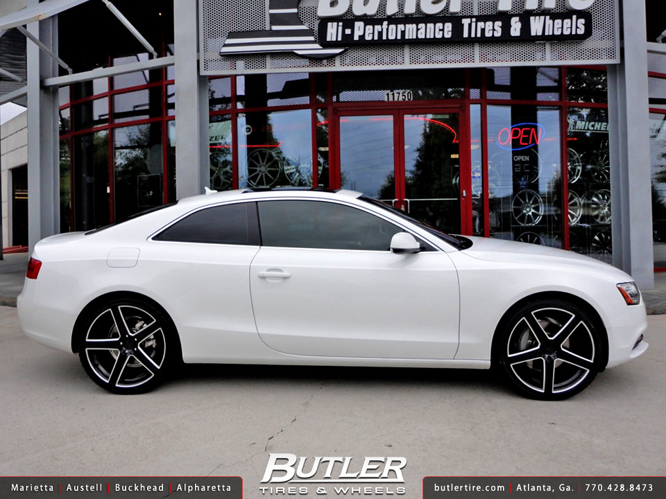 4 New Tires >> Audi A5 with 20in TSW Rivage Wheels | Additional Picture
