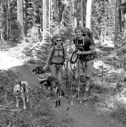 Section Hikers - Pacific Crest Trail, Sky Lakes Wilderness, Oregon | by ex_magician
