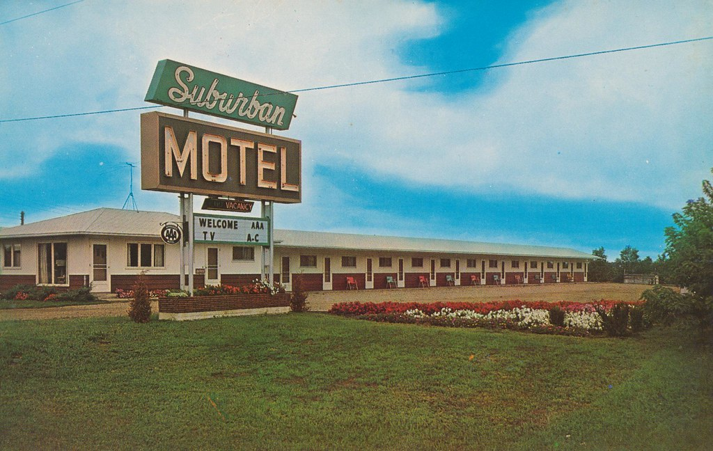 Suburban Motel - Sioux Falls, South Dakota