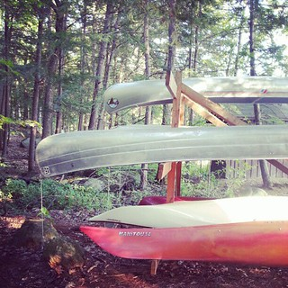 Canoes for Lake Squam. | by skinnylaminx