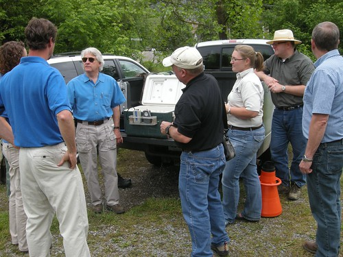 Osm director meeting with u s fish and wildlife service a for Virginia fish and game