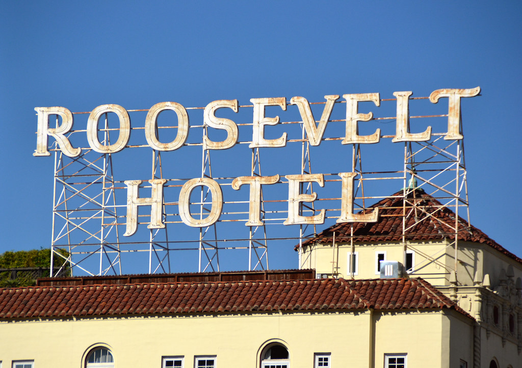 The roosevelt hotel the roosevelt hotel los angeles for Haunted hotels in los angeles ca